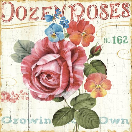 Rose Garden II by Lisa Audit art print