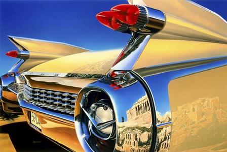 '59 El Dorado Athens by Graham Reynolds art print