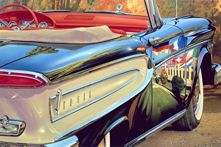 '58 Ford Edsel by Graham Reynolds art print