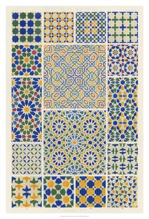 Moorish Design by Owen Jones art print