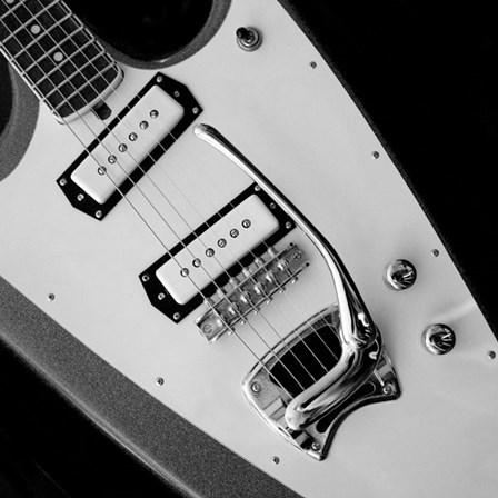 Classic Guitar Detail VI by Richard James art print