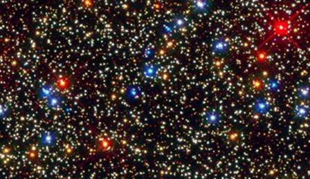 Omega Centauri - WFC3 by NASA, ESA, STScl art print