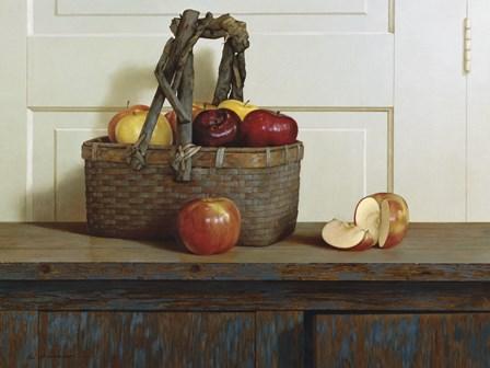 Still Life With Apples by Zhen-Huan Lu art print