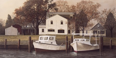 Chesapeake Shore by David Knowlton art print