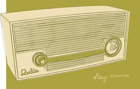 Lunastrella Radio by John W. Golden art print
