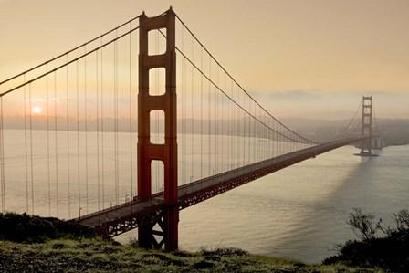 Golden Gate Sunrise #2 by Alan Blaustein art print