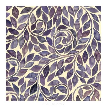 Amethyst Swirls II by Grace Popp art print