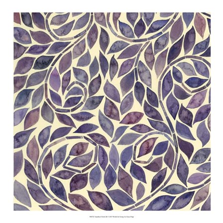 Amethyst Swirls III by Grace Popp art print