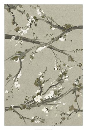 Neutral Cherry Blossoms I by Grace Popp art print