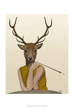 Dear Audrey by Fab Funky art print