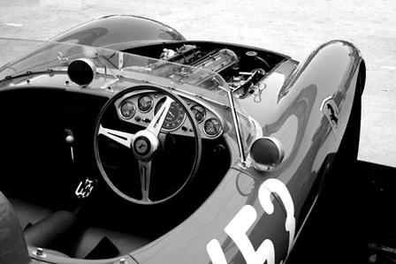 Ferrari Cockpit 1 by Naxart art print