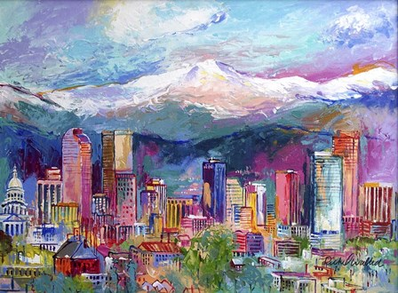 Denver by Richard Wallich art print