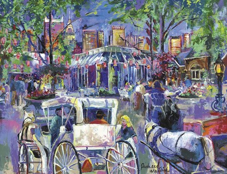 Tavern On The Green 2 by Richard Wallich art print