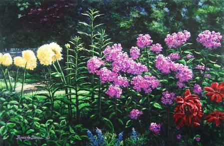 Ravens' Garden by Bruce Dumas art print