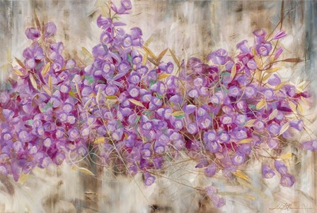 Lavender Bells by Li Bo art print