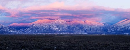 Sangre De Cristo Mountains, Taos County, New Mexico by Panoramic Images art print