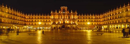 Plaza Mayor Castile & Leon Salamanca, Spain by Panoramic Images art print
