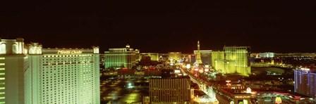 Las Vegas Strip,Las Vegas, NV by Panoramic Images art print