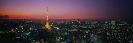 Japan, Tokyo by Panoramic Images art print