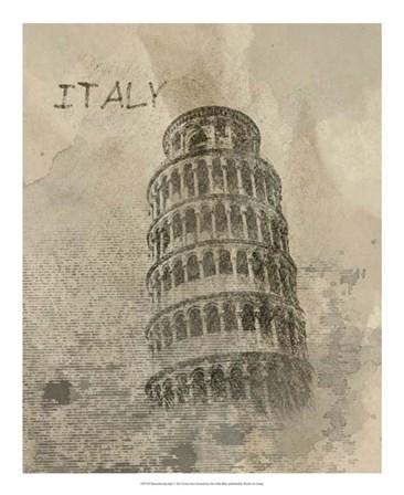 Remembering Italy by Irena Orlov art print