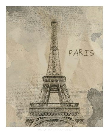 Remembering Paris by Irena Orlov art print