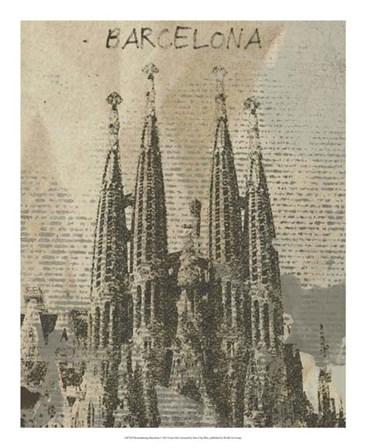 Remembering Barcelona by Irena Orlov art print