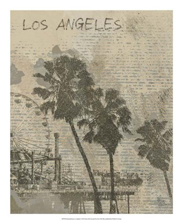 Remembering Los Angeles by Irena Orlov art print