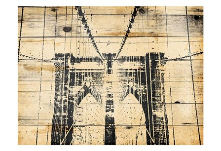 Wood Bridge by Jace Grey art print