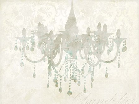 Chandelier by Remy Dellal art print