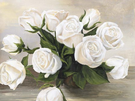 Vaso di Rose by Silvia Mei art print