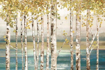 Down by the River by Allison Pearce art print