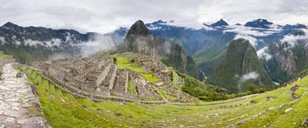 Machu Picchu in the Fog, Peru by Panoramic Images art print