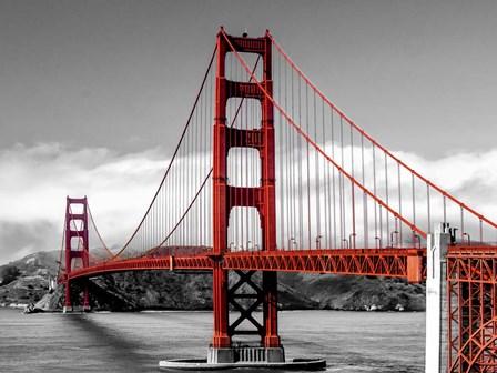 Golden Gate Bridge, San Francisco by Pangea Images art print