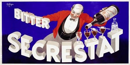 Bitter Secrestat, 1935 by Robys (Robert Wolff) art print