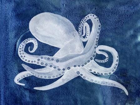 Cephalopod I by Alicia Ludwig art print