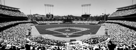 Dodgers vs. Angels, Dodger Stadium, City of Los Angeles, California by Panoramic Images art print