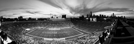 Soldier Field Football, Chicago, Illinois by Panoramic Images art print