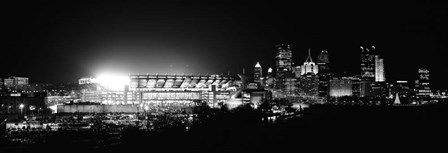 Heinz Field, Three Rivers Stadium, Pittsburgh, Pennsylvania by Panoramic Images art print