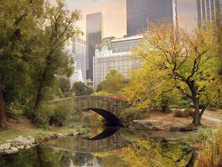 Autumn in New York by Jessica Jenney art print
