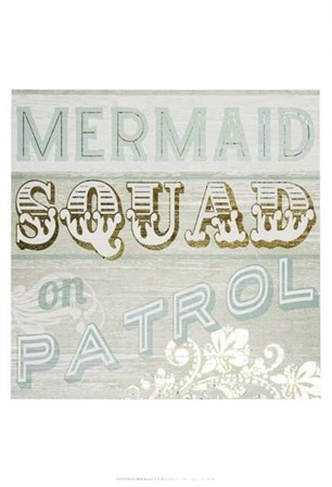 Gold & Beachy IV by June Erica Vess art print