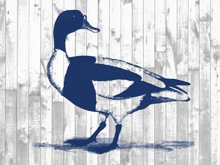 Woodgrain Fowl III by Jennifer Goldberger art print