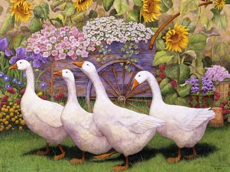 Garden March III by Marcia Matcham art print