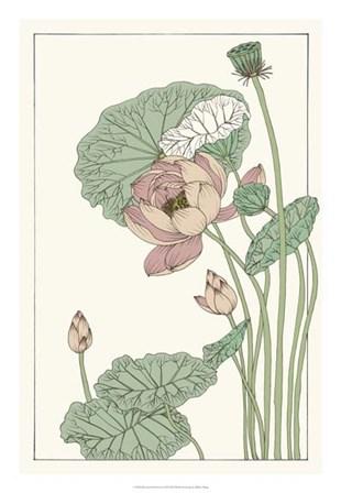 Botanical Gloriosa Lotus II by Melissa Wang art print