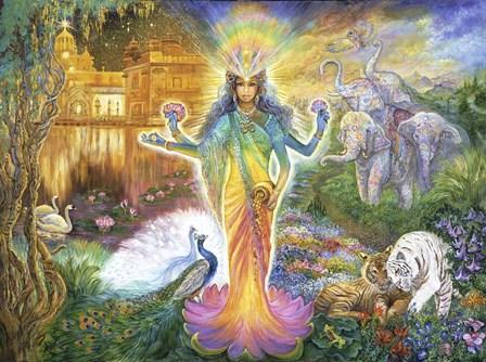 Lakshmi by Josephine Wall art print