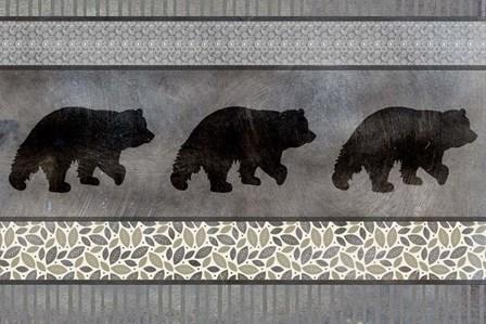 Bear Pattern by LightBoxJournal art print