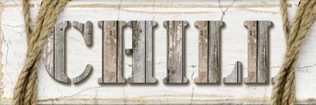 Country Wood Sign V3 3 by LightBoxJournal art print