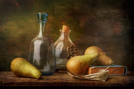 Stil-Life With Feather by Stanislav Aristov art print