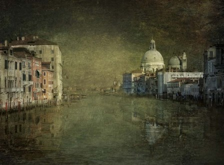 Grand Canal Impression by Joan Blease art print
