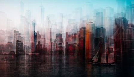 Manhattan by Carmine Chiriaco art print
