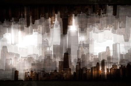 Chicago Skyline by Carmine Chiriaco art print